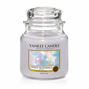 Świeca Yankee Candle słoik średni Sweet Nothings